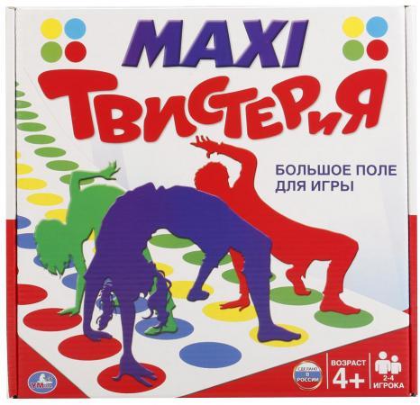 Настольная игра для вечеринки УМКА Макси Твистерия пьяная рулетка – подарок для шумной вечеринки