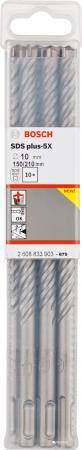 Bosch2608833903 10шт Сверло SDS plus-5X 10x150x210 сверло sds plus 7 10x250x315 мм 10 шт bosch 2608587177