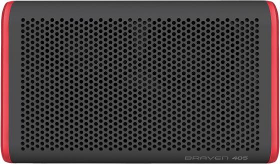 Беспроводная акустика Braven 405. Цвет серый\\красный. цена и фото