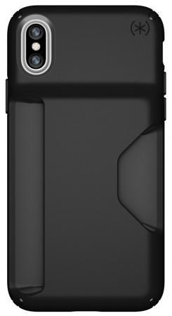 Накладка Speck Presidio Wallet для iPhone X чёрный 103138-1050 все цены
