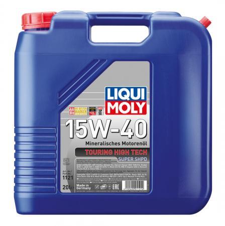 Минеральное моторное масло LiquiMoly Touring High Tech Super SHPD 15W40 20  1121