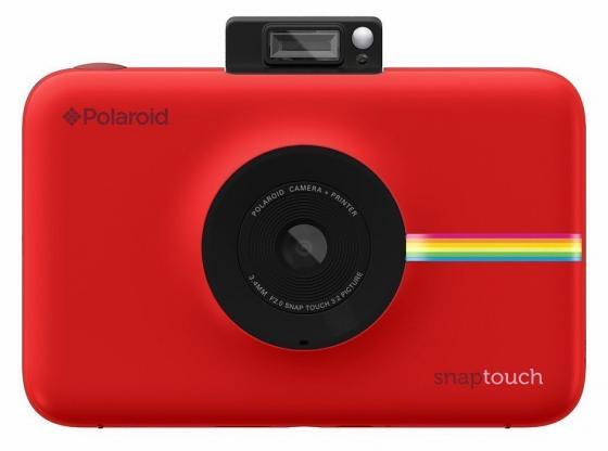 Фотокамера Polaroid Snap Touch с функцией мгновенной печати. Цвет красный.