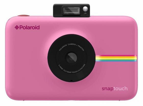 лучшая цена Фотокамера Polaroid Snap Touch с функцией мгновенной печати. Цвет розовый.