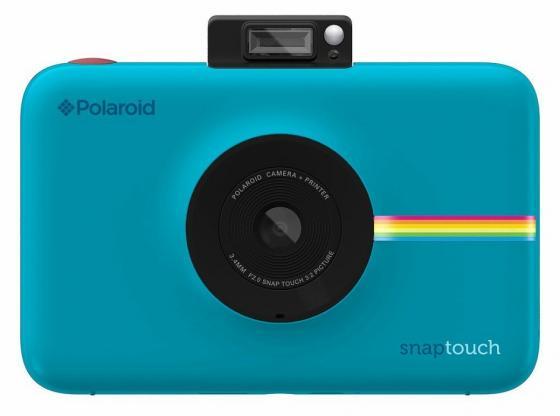 Фотокамера Polaroid Snap Touch с функцией мгновенной печати. Цвет синий.