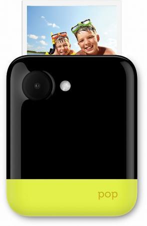 Фото-видеокамера Polaroid POP 1.0 с функцией мгновенной печати. Цвет желтый.