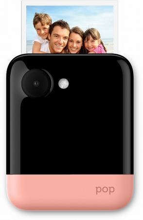 Фото-видеокамера Polaroid POP 1.0 с функцией мгновенной печати. Цвет розовый.
