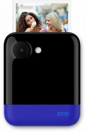 Фото-видеокамера Polaroid POP 1.0 с функцией мгновенной печати. Цвет синий. фотобумага polaroid zink pop 3 5x4 25 на 20 фото