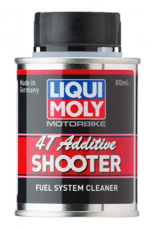 Очиститель топливной системы LiquiMoly Motorbike 4T Additiv Shooter 20591 присадка liqui moly motorbike speed additiv shooter в бензин 80 мл