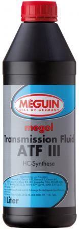 Минеральное трансмиссионное масло Meguin Transmission Fluid ATF III 1 л 4875