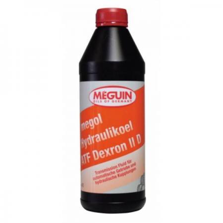 Минеральное трансмиссионное масло Meguin Hydraulikoel ATF Dexron II D 1 л 6479