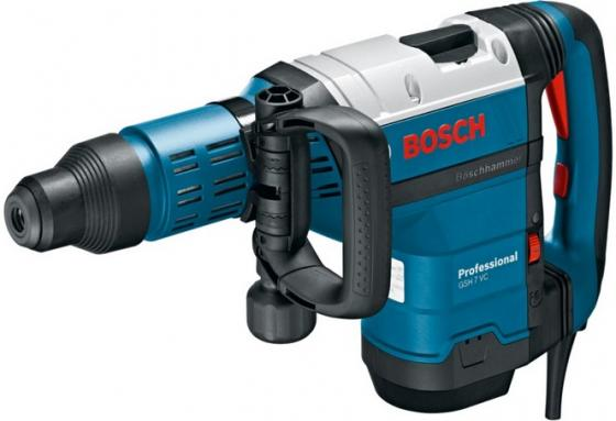 Bosch GSH 7 VC Отбойный молоток [0611322000] {1500 Вт, 13Дж,SDS-MAX,8.5 кг, кейс} отбойный молоток stanley sds max 1010вт sthm5ks b9
