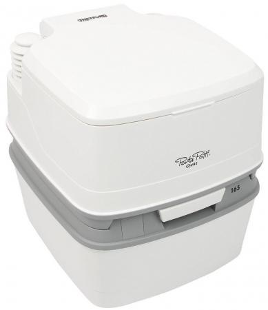 THETFORD Porta Potti Qube 165 жидкостный 15/21л сильфонный белый 420х380х400мм