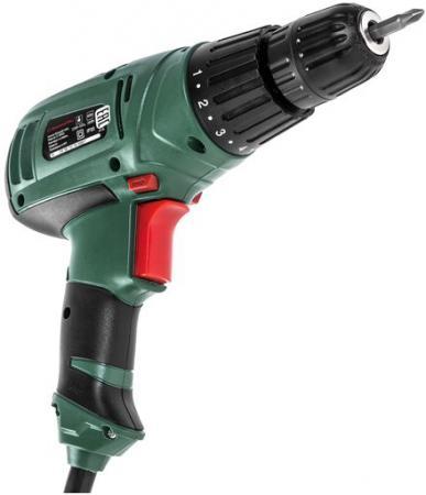 Дрель-шуруповерт Hammer Flex DRL420А 300Вт 10мм 0-400/0-1450 об/мин реверс 29Нм дрель шуруповерт hammer flex drl400a