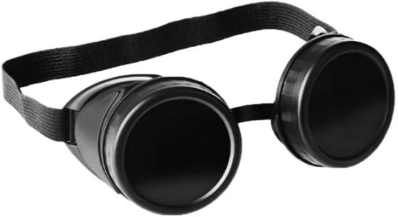Очки газосварщика СИБИН 1106 пластиковый корпус минеральное стекло очки газосварщика винтовые зн 56 89145