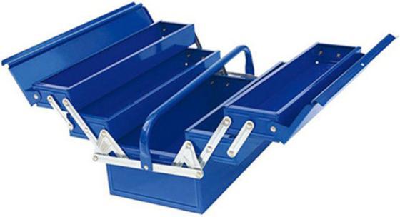 Ящик для инструментов WEDO WD1327A 5-ти секционный, 420*200*210мм рулетка wedo wd771 04