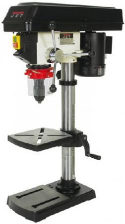 Станок сверлильный JET JDP-10M 430Вт 210-2580об/мин 16мм БЗП ход 60мм + тиски цена