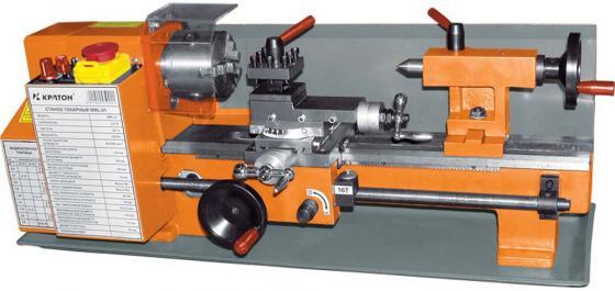 Станок токарный КРАТОН MML-01 500Вт 50-2500об/мин патрон 80мм по металлу перфоратор кратон rhe 450 12 3 07 01 022