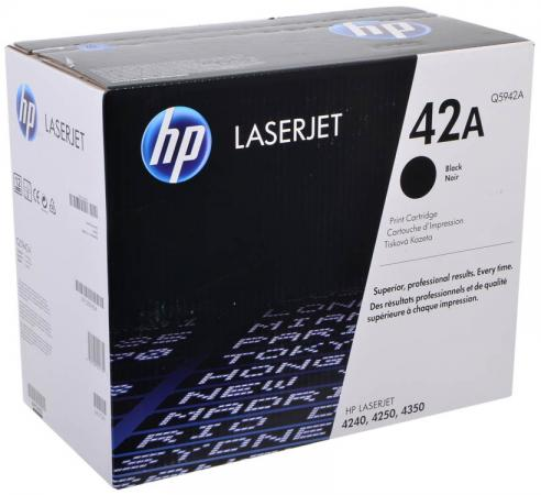 Картридж HP Q5942A для LaserJet 4250 4350 rm1 0037 000 original new pick up roller for 4200 4300 4250 4350 4700 cp4005 cp4025 cp4525 m4345 p4014 p4015