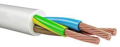 Провод соединительный ПВС Арзамасский кабельный завод 3x2.5 мм круглый 50м серый