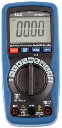Мультиметр CEM DT-932N цифровой true rms