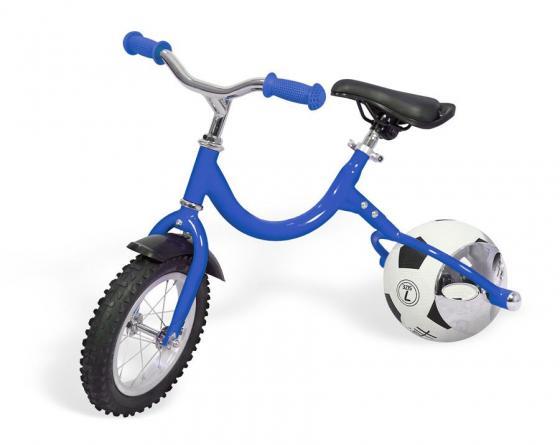 Беговел с колесом в виде мяча «ВЕЛОБОЛЛ» синий Bike on ball pop bike беговел детский sprint с бескамерными колесами цвет синий