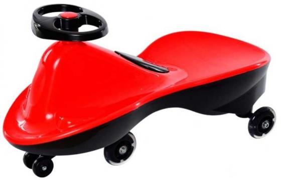 Машинка детская с полиуретановыми колесами «БИБИКАР СПОРТ» красный Bibicar, red colour