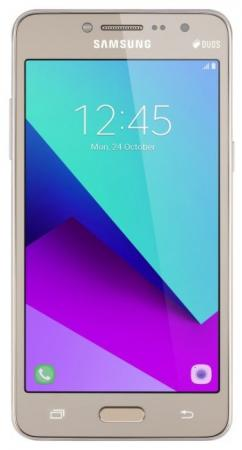 Смартфон Samsung Galaxy J2 Prime золотистый 5 8 Гб LTE Wi-Fi GPS 3G SM-G532FMDDSER смартфон nokia 5 ds медный 5 2 16 гб lte wi fi gps