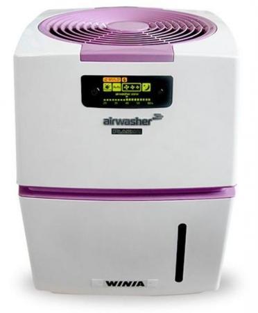 Очиститель воздуха Winia AWM-40PTVC бело-фиолетовый