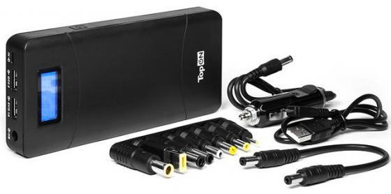 Внутренний аккумулятор 18000 мАч TopON TOP-T72 черный аккумулятор