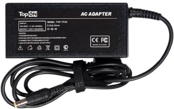 Блок питания для TFT монитора Acer, BenQ, NEC, Sony, Viewsonic, Gem, HP, Megavision, LG, Planar. 12V 5A (5.5x2.5mm) 60W. CH-1205, 1050F, EA1050F. блок питания для tft монитора acer asus viewsonic и нетбукa dns mini benq joybook asus eee pc 1