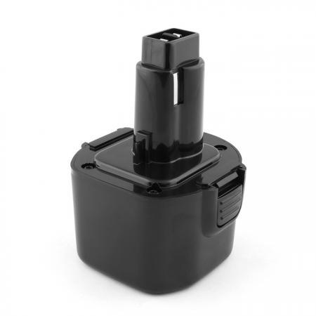 Аккумулятор для DeWalt 9.6V 3.0Ah (Ni-Mh) DC700, DCD800, DW050, DW900 Series. DE9036, DE9062, DW9061, DW9062 102062 TOP-PTGD-DE-9.6-3.0 аккумулятор для dewalt 18v 2 1ah ni mh dc200 dc300 dc500 dc700 series de9503 dc9096 de9039