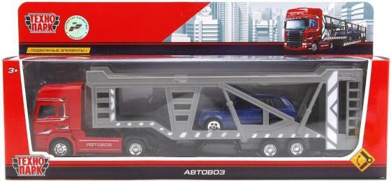 Автовоз Технопарк АВТОВОЗ красный 1011-R 1011-R игрушка технопарк трамвай 1079bc r