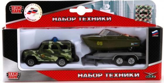 Внедорожник Технопарк УАЗ 2 шт 22 см камуфляж SB-16-35-M-WB цена