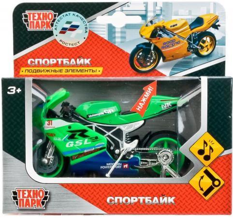 Мотоцикл Технопарк МОТОЦИКЛ зеленый 532116-R мотоцикл хонду f4в спб