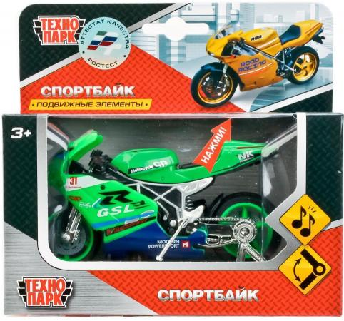 Мотоцикл Технопарк МОТОЦИКЛ зеленый 532116-R мотоцикл other 250 re250