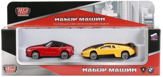 Набор Технопарк НАБОР ИЗ 2-Х МАШИН 1:72 разноцветный TOP827 набор из 3 х машин технопарк лицензии технопарк