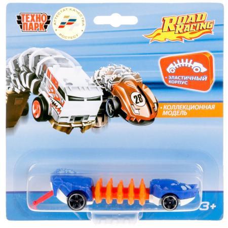 Автомобиль Технопарк МУТАНТ ROAD RACING синий 1619260-R автомобиль технопарк мутант road racing синий 1619260 r