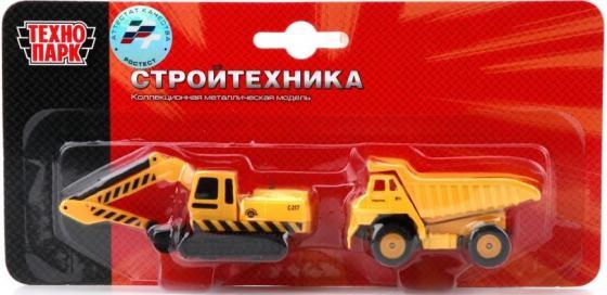 Строительная техника Технопарк СТРОИТ. ТЕХНИКА 2 шт 24 см желтый SB-15-19-BLC
