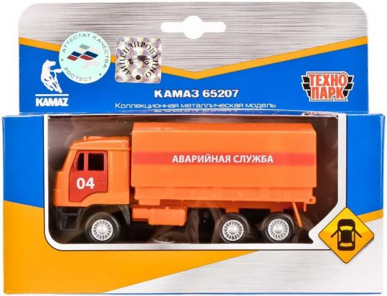 Аварийная служба Технопарк КАМАЗ 12 см оранжевый SB-16-89-B4-WB игрушка технопарк газ 66 с ракетой sb 16 78 2 wb