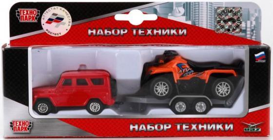 Набор Технопарк УАЗ красный SB-16-39 игрушка технопарк уаз патриот x600 h11003 r