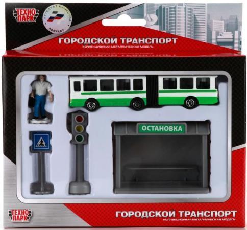 Набор Технопарк АВТОБУС зеленый SB-16-18-B рюкзак мужской winpard цвет зеленый 21281 green