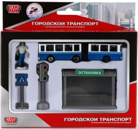 Набор Технопарк ТРОЛЛЕЙБУС синий SB-16-18-A