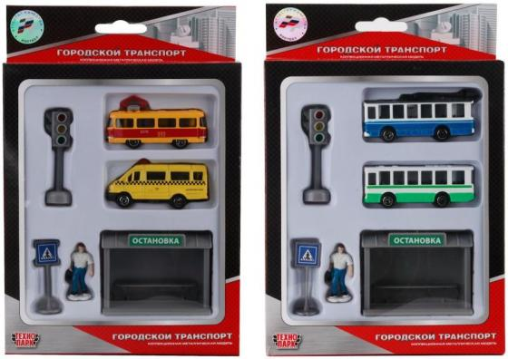 Набор Технопарк НАБОР разноцветный SB-15-39 игрушка технопарк трамвай sb 13 01 2t