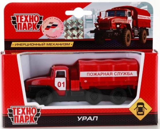 Пожарная машина Технопарк УРАЛ красный SB-15-35-T11-WB машины технопарк машина урал аварийная служба
