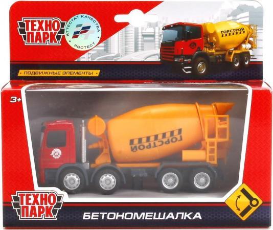 Бетономешалка Технопарк БЕТОНОМЕШАЛКА 1:64 желтый U1401A-6 бетономешалка пламенный мотор 1 32 бетономешалка строй транс 20 см оранжевый