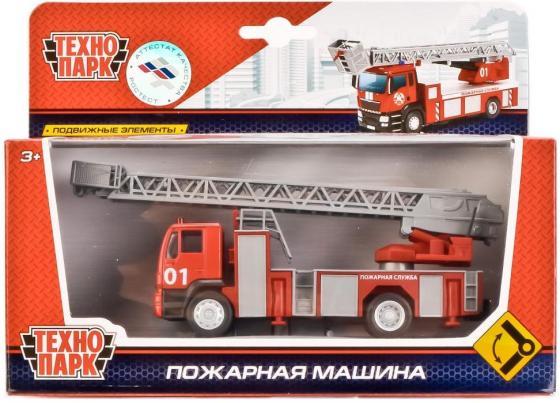 Пожарная охрана Технопарк ПОЖАРНАЯ 1:64 красный U1401E-2 вертолеты и самолеты технопарк вертолет пожарная служба