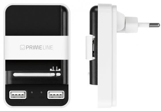 Сетевое зарядное устройство Deppa 2313 1A 2 х USB белый сетевое зарядное устройство ainy ea 031a с 2 мя usb 1a 2 1a черное