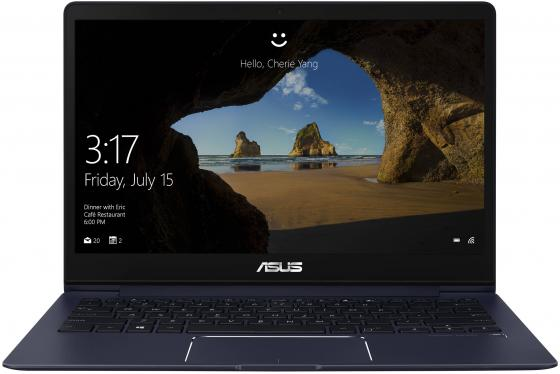Ноутбук ASUS Zenbook 13 UX331UA-EG084T 13.3 1920x1080 Intel Core i7-8550U 512 Gb 8Gb Intel UHD Graphics 620 синий Windows 10 Home 90NB0GZ1-M03750 ноутбук asus zenbook s ux391ua eg023r 13 3 1920x1080 intel core i7 8550u 512 gb 8gb intel uhd graphics 620 синий windows 10 professional 90nb0d91 m04650