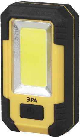 Фонарь рабочий Эра RA-801 желтый чёрный фонарь эра ga 801