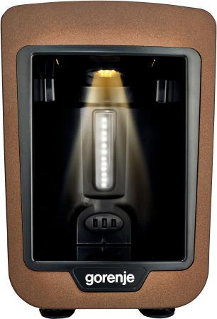 Кофеварка Gorenje ATCM730T 735 Вт коричневый черный кофеварка delonghi en 500 коричневый